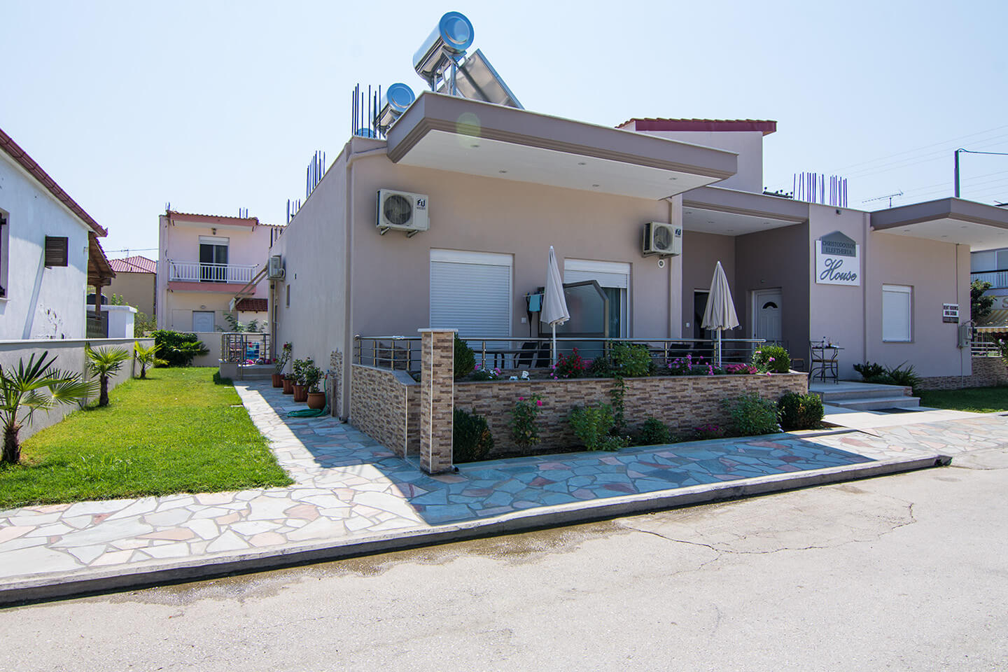 Christodoulos Eleftheria House Apartment 005 - Nea Vrasna - Rent Rooms - Apartments - Hotel