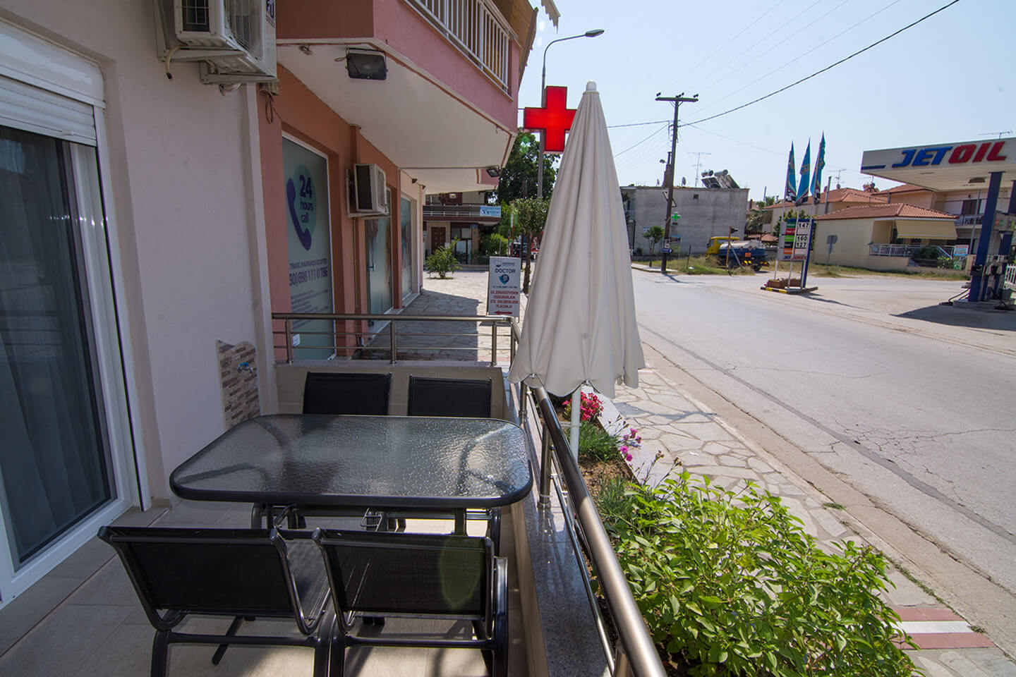 Christodoulos Eleftheria House Room 004 - Nea Vrasna - Rent Rooms - Apartments - Hotel